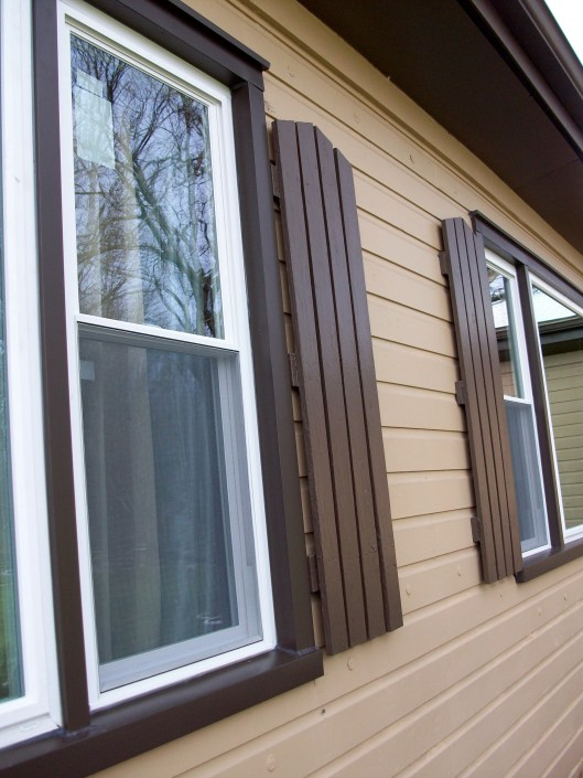 Brown Window Capping