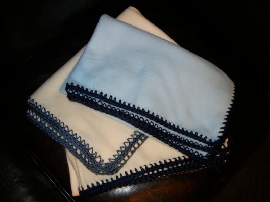 Baby Boy Blanket Trio