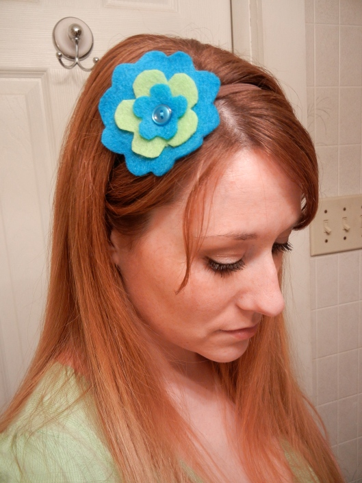 Flirty Flower Headband