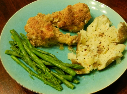 Nanny Florida's Oven-Fried Chicken: Recipe 1